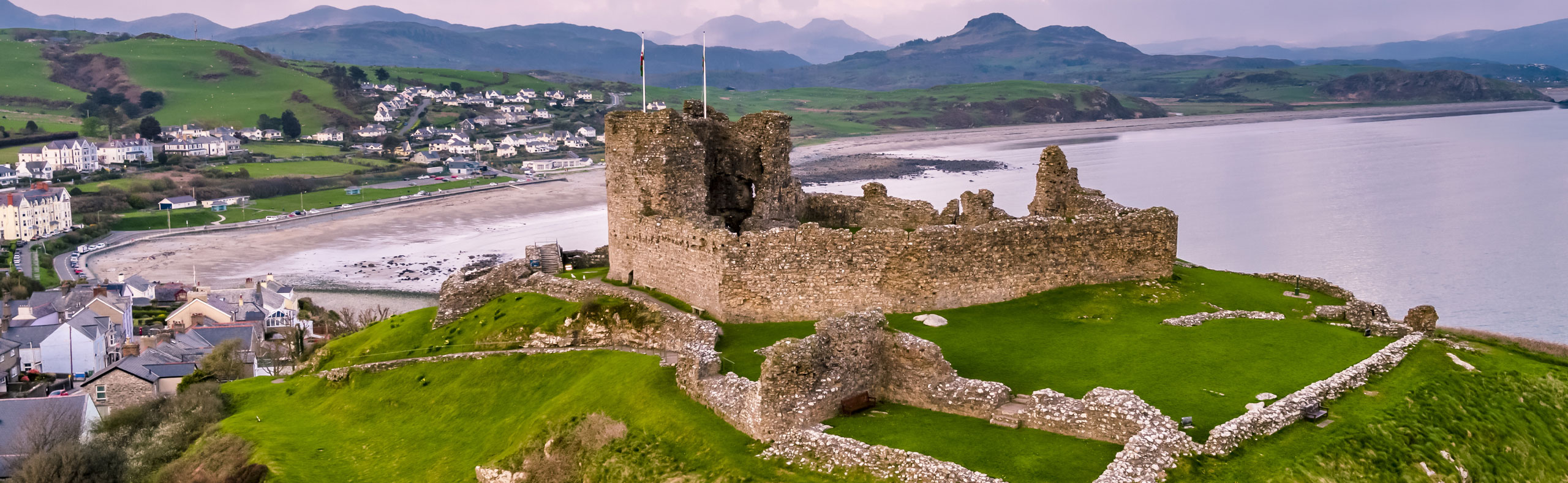 Stunning Image from the Castle in Criccieth